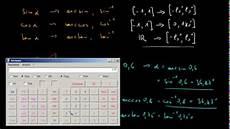 trigonometrie 13 anwendung der umkehrfunktionen arcsin