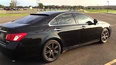 2007 lexus es 350 rims lexus es 350 2007 black on black rims youtube