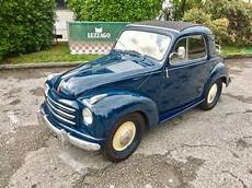 1952 fiat 500 c topolino trasformabile fully restored