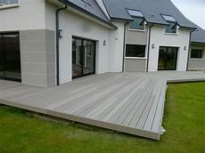 Revetement Terrasse Composite Terrasse Composite Gris 1 Patio In 2019 Patio Edging