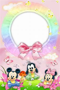 baby frame with mickey mouse gallery yopriceville high quality images and transparent png