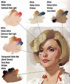 mixing skin tones painting the artist s quest