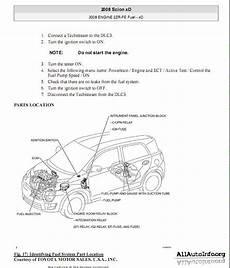 2008 Scion Xd Wiring Diagram by руководство по ремонту Scion Xd Service Manual 2008