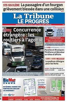 La Une De La Tribune Le Progr 232 S 233 Dition Le Progr 232 S