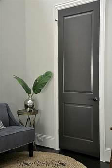 black gray painted interior doors honey we re home