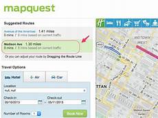 how to get driving directions on mapquest
