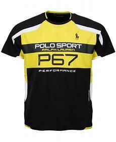 polo ralph polo sport micro dot t shirt in black