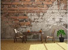 Papier Peint Pas Cher Vieux Mur De Briques Imitation