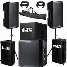 alto pa speaker alto truesonic ts212 ts215s subwoofer active pa system 3450w astounded