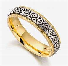celtic wedding rings show heritage and commitment