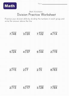 division worksheet 1 with remainders math math division math division worksheets