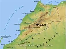 hauptstadt marokko hauptstadt marokko karte