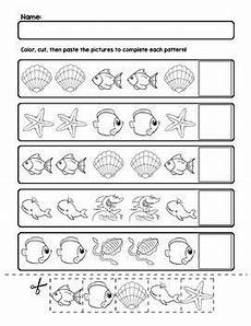 animal pattern worksheets 14350 water animal aabb pattern worksheets 5 pages matem 225 ticas preescolar patrones y actividades