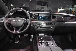 Carbon Fiber Dash On 2018 Genesis G80 Sport Looks Out Of