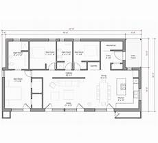 affordable house plan with over 1700 living sq 1700 sf with images prefab homes prefab single story