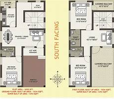 south facing house plan 1000 sq ft autocad design