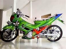 Motor Satria Fu Modifikasi by Gambar Modifikasi Motor Satria Fu Paling Keren