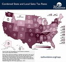 the united states of sales tax in one map the