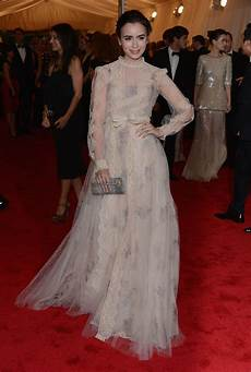 lily collins evening dress lily collins looks stylebistro