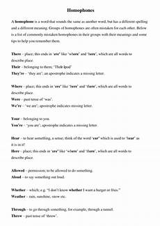 punctuation worksheets ks3 with answers 20814 ks3 homophones by fionarigney teaching resources tes