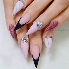 nails muster 35 gorgeous marble stiletto nail designs nails in 2019