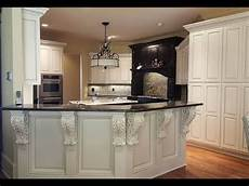 cabinet refinish diy simple paint and antique glaze kitchen cabinets youtube