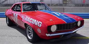 ICONIC 1969 CHEVY CAMARO Z/28 TRANS AM RACE CAR  HOT CARS