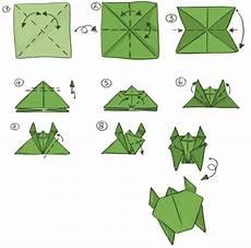 Die Anleitung Zum Falten Einer Schildkr 246 Te Origami