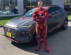 Hyundai Kona Iron Edition Is For The Marvel Geeks
