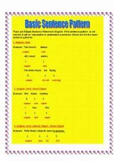 basic sentence pattern worksheets for grade 4 529 worksheets basic sentence pattern