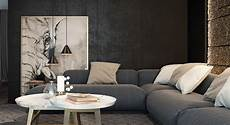 Black And Living Room Design