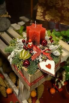 1001 ideen f 252 r weihnachtsgestecke zum basteln