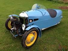 Morgan 3 Three Wheeler  Vintage Car Bike Classic Barn Find