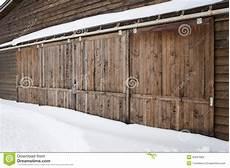 Vieille Porte De Grange En Bois Image Stock Image Du