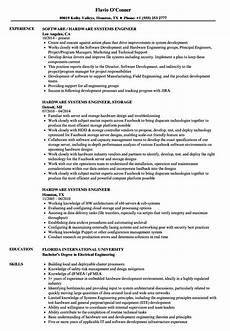 hardware systems engineer resume sles velvet jobs
