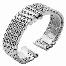 22mm Stainless Steel Band Replacement by 18 20 22mm Stainless Steel High Quality Band Straps