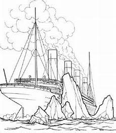 Gratis Malvorlagen Titanic Titanic Sinking Coloring Pages Ausmalbilder Ausmalen