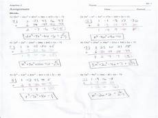 synthetic division worksheets with answers 6965 algebra 2 dividing polynomials worksheet answers worksheet list