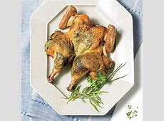 butterflied chicken with herbs and sticky lemon_image