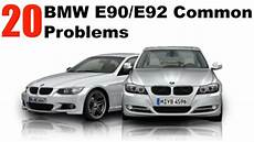 20 Most Common Bmw E90 E92 Problems