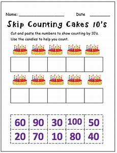 worksheets on skip counting by 10 s 11973 skip counting by 10 s this resource contains 5 worksheets for students to cut and paste