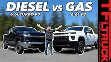 2020 Chevrolet 6 6 Gas by All New 2020 Chevy Silverado Hd Gas Vs Diesel Wait Until