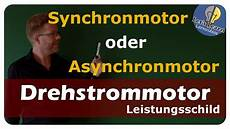 Synchronmotor Oder Asynchronmotor Drehstrommotor