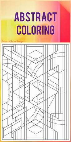 Malvorlagen Pdf Reader Coloring Book Abstract Coloring Pages