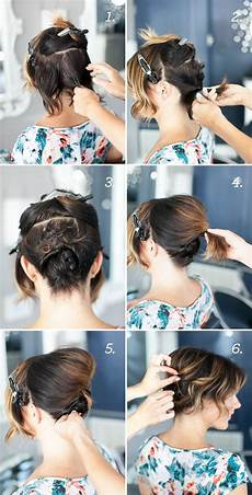 easy step by step hairstyles for medium hair fashionspick com