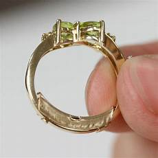 is the engagement ring too big no problem you can fix it art links jewelry