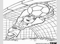 Disegni di Calcio da colorare e stampare
