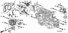 2007 honda accord engine diagram 31170 rwk 025 genuine honda tensioner assy auto