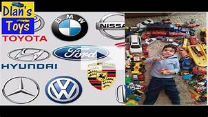 Car Logos And Names I For Kids  YouTube