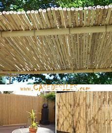 panneau bois bambou cloture bambou regulier 224 prix canon cl 244 ture bambou